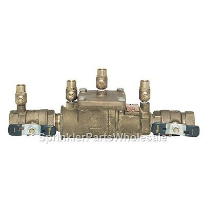 $164.40 • Buy Ames 3/4  2000B Double Check Valve Backflow Preventer Assembly DCA 0062489 Watts