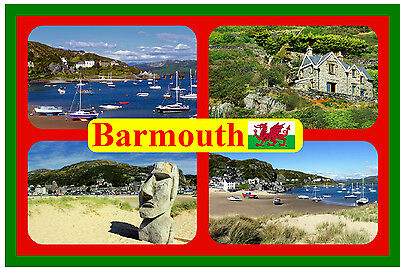 £2.15 • Buy Barmouth, Wales - Souvenir Novelty Fridge Magnet - Sights / Flag / New / Gifts