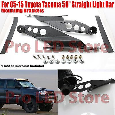 $35 • Buy For 05-15 Toyota Tacoma Roof Mounting Bracket For 50  Straight LED Light Bar