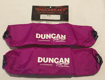 $60 • Buy Shockwears Outerwears Front Shock Covers Duncan Racing -507 Pep Works Fox Laeger