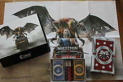 $ CDN127.93 • Buy WITCHER : WILD HUNT - BLOOD AND WINE - Gwent Cards + LIMITED BOX + POSTER !!!!
