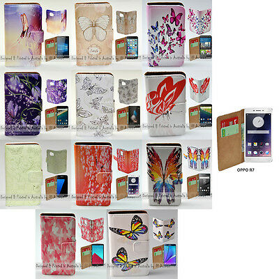AU14.98 • Buy For OPPO Series - Butterflies Theme Print Wallet Mobile Phone Case Cover #1