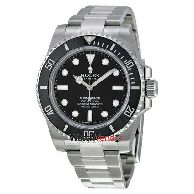$ CDN19445.99 • Buy Rolex Submariner Black Dial Stainless Steel Automatic Mens Watch 114060