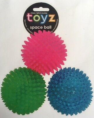 Spikey Bouncy Dog Ball, Floating Dog Toy (different Sizes) • 3.99£