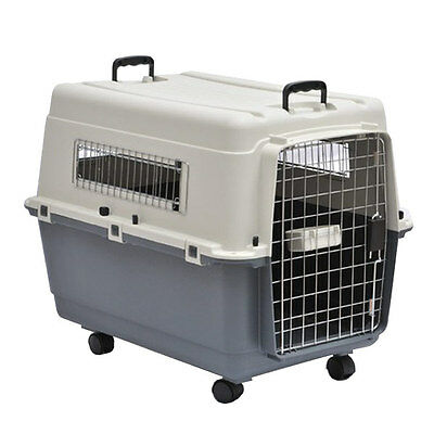 View Details Barkshire Dog Carrier Airline Approved - Grey/White Large • 59.99£