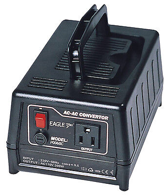 Eagle (230V To 110V) 300W UK To USA Step-down Voltage Converter Transformer • 49.95£
