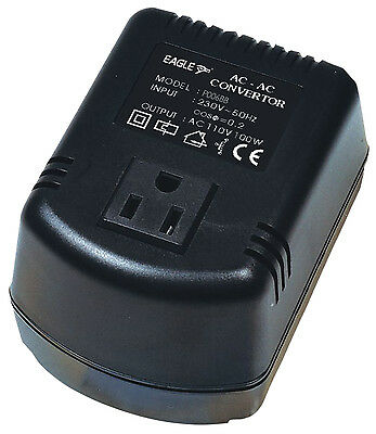 Eagle (230v-110v) UK To USA 100W Step-down Voltage Converter Transformer  • 117.99£