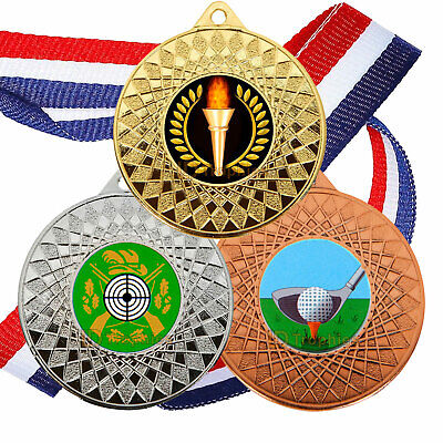 £53.50 • Buy 50 X Multi Sport Medals, Games, Birthday Party, Sports Awards, Winner Trophy