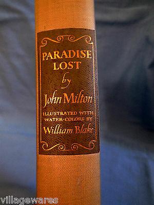 $48 • Buy 1940 Heritage Club Edition Of PARADISE LOST By John Milton In Slipcase Box