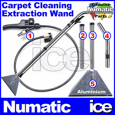 Numatic CT CTD George GVE Spray Tube Assembly With Metal Pipes Rod Tubes Kit A39 • 109.99£