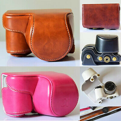 $ CDN18.30 • Buy Fashion PU Leather Camera Case Bag For Sony Alpha A6000 A6300 With 16-50mm Lens