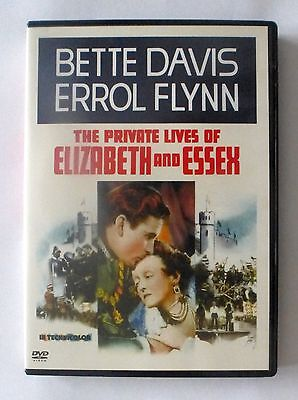 THE PRIVATE LIVES OF ELIZABETH And ESSEX (DVD) (1941) Bette Davis/Errol Flynn • 2.99£