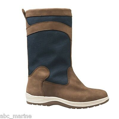 Gul Fastnet Cordura & Leather Deck Boots In Tan/Navy DS1005 Fishing, Sailing • 169.95£