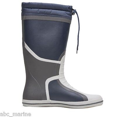 Gul Full Lenght Deck Boot Navy/Charcoal Fishing, Sailing, Wellies • 40£