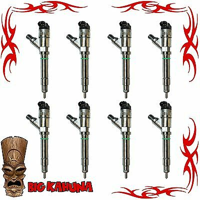 $1395 • Buy 2004.5-2005 6.6l Lly Diesel Injector Set Of 8 For Chevy/gmc Duramax
