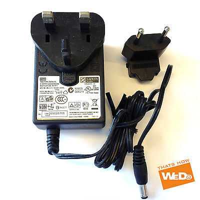 AU32.37 • Buy Roland Ep-7 Yamaha Psr-295 Digital Piano Power Supply Adaptor 12v 2a Uk Eu
