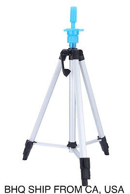 $31.99 • Buy Adjustable Tripod Stainless Steel Stand Holder For Hairdressing Training Head Mo