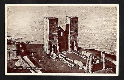 £2.99 • Buy Posted 1948 View Of The Reculver Towers, Herne Bay