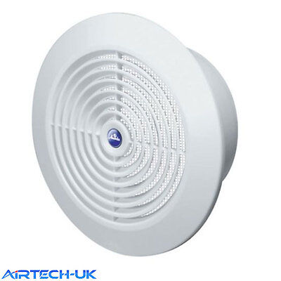 £6.50 • Buy Air Vent Grille Grid Circle Ducting Ventilation Cover 150mm 6  Round Ceiling T66
