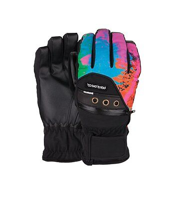 $39 • Buy 2016 NWT WOMENS POW ASTRA GLOVE $65 XS Party Paint Splatter Multicolor
