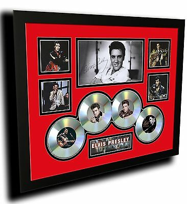 AU99.99 • Buy Elvis Presley The King Signed Limited Edition Framed Memorabilia