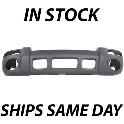 $67.90 • Buy NEW Textured - Gray Front Bumper Cover For 2002 2003 2004 Jeep Liberty Sport SUV