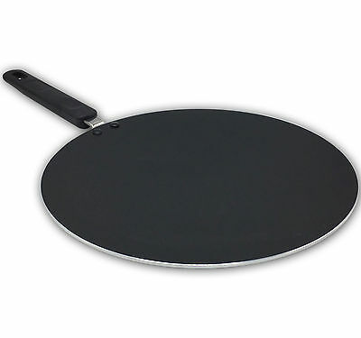 Large Non Stick Tawa Tava Pan Indian Naan Roti Chapati Flat Bread Pancake • 15.99£