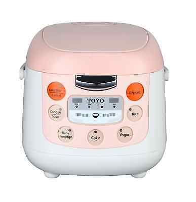 AU65 • Buy TOYO Multi-Function Rice Cooker With Keep Warm & Display MB-FS20D (2.0L/4 Cups)