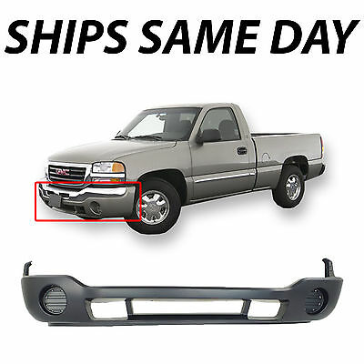 $91.63 • Buy NEW Primered Lower Bumper Cover Valance For 1500 2500 HD Sierra 2003-2007 03-07