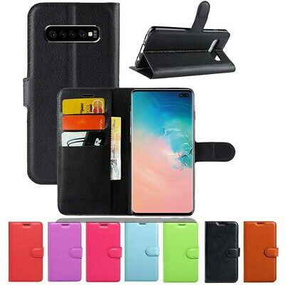 AU8.95 • Buy Wallet Leather Flip Case Cover For Samsung Galaxy S10 S8 S9 Plus S10e S6 S7 Edge