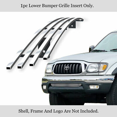 $55 • Buy Fits 01-04 Toyota Tacoma Lower Bumper Stainless Steel Billet Grille Insert