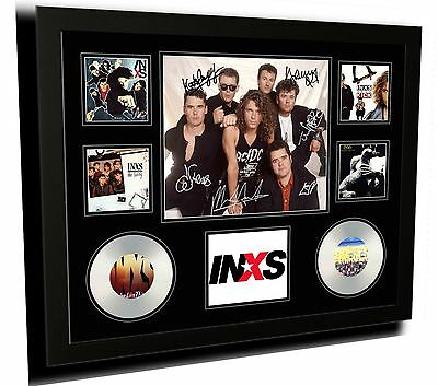 AU87.99 • Buy Inxs Signed Limited Edition Framed Memorabilia
