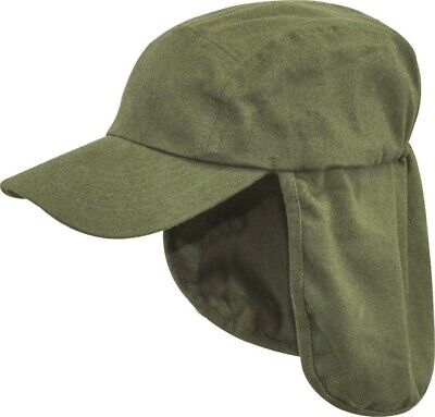 £8.25 • Buy ARMY LEGIONNAIRES HAT Mens Olive Cotton Sun Cap Travel Camping Hiking Neck Flap