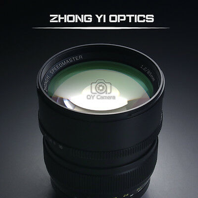 $ CDN855.35 • Buy Mitakon Zhongyi Speedmaster 85mm F/1.2 Prime Lens For Sony A72 A7s2 A7R2 A7II