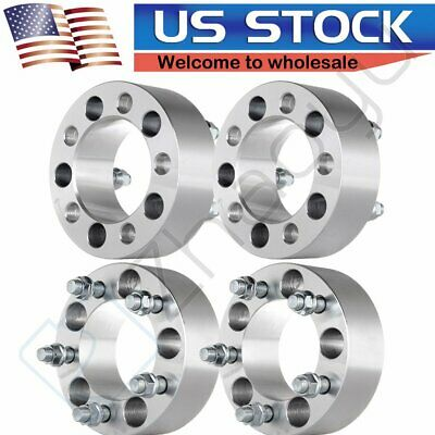 $81.08 • Buy ECCPP 4pcs 2'' 50mm 5x114.3 5x4.5 Wheel Spacers For Ford Ranger Explorer Mustang