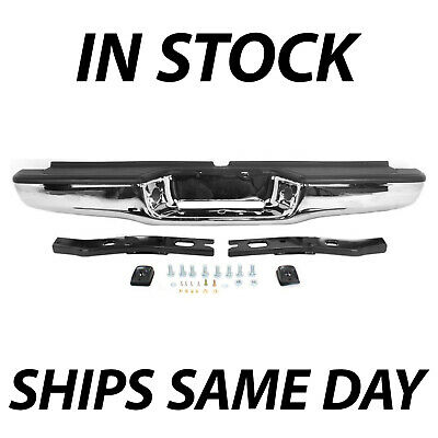 $148.23 • Buy NEW Chrome - Complete Rear Steel Bumper Assembly For 1995-2004 Toyota Tacoma