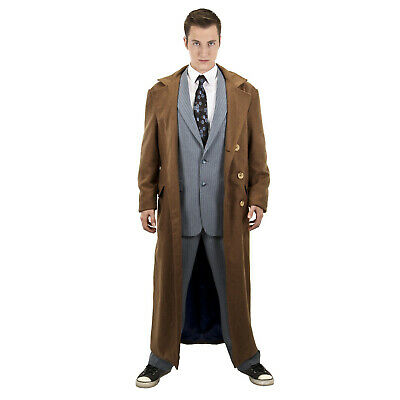 £30.19 • Buy Adult Men's Deluxe Tenth Doctor David Tennant Dr. Who Cosplay Costume Jacket