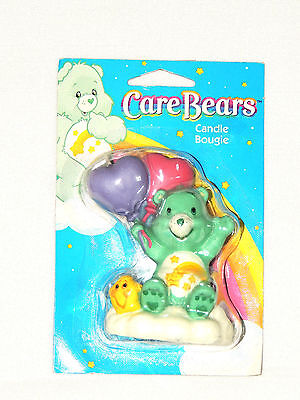 New Care Bears  1- Candle   3-1/4  Tall -party Supplies • 7.49£