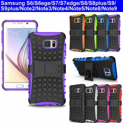 AU7.99 • Buy Case Cover For Samsung Note2 3 4 5 8 9 S6 S6edge S7edge S8 S9 Plus Armor TPU