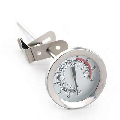 $9.99 • Buy Kitchen Meat Cooking Milk Frothing Thermometer Temperature Gauge 8-Inch Long