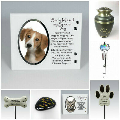 £6.95 • Buy Cat Dog Pet Memorial Tribute Plaque Stake Marker Spike Urn Remembrance Ornament