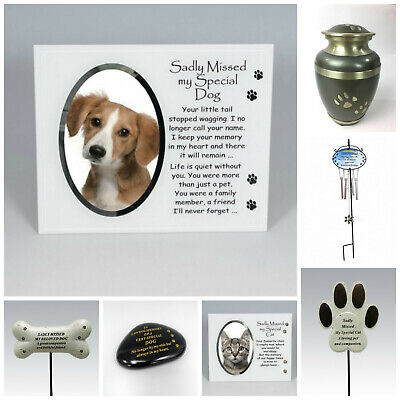 Cat Dog Pet Memorial Tribute Plaque Stake Marker Spike Urn Remembrance Ornament • 6.95£