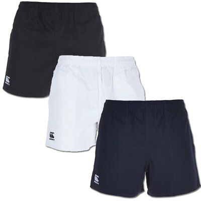 Canterbury Men's Professional Match Cotton Rugby Shorts (with Pockets) • 17.95£