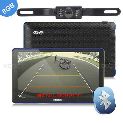 AU134.95 • Buy 7  Car GPS Navigation Navigator With Bluetooth Handsfree & Wireless Reverse Cam