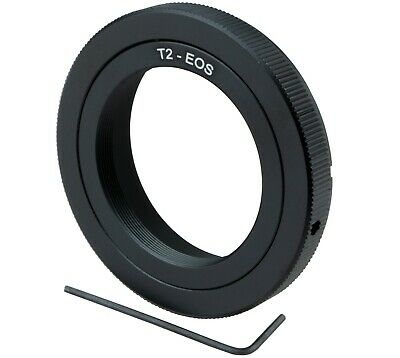 £6.77 • Buy T2-EOS Mount Adapter T2/T Ring For Canon EOS EF DSLR Camera 750D,700D,650D,600D