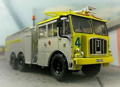 $33.21 • Buy Airport Airfield Crash Rescue Fire Engine Model Thornycroft Nubian 1:76 HO/OO/00