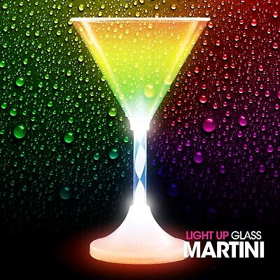 Light Up Martini Glass • 6.49£