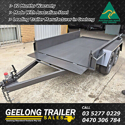 AU1990 • Buy 8x5 Tandem Trailers Checkered Plate Floor