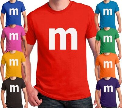 $14.95 • Buy M Candy T-shirt Halloween Costume Cosplay Chocolate Group & Family M Shirts