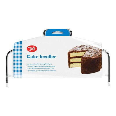 £4.50 • Buy Tala Cake Leveller Even Cutting Slicing Layers Baking Decorating - 25cm Width